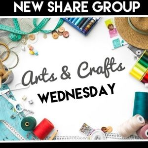 8/12 ARTS, CRAFTS, HANDMADE SHARE GROUP